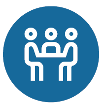 Button Wissenstransfer kleine Gruppen