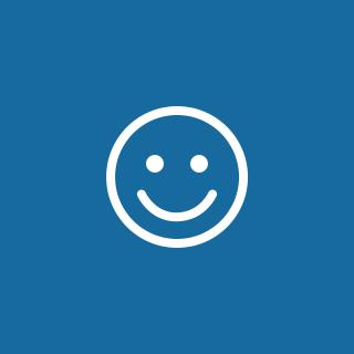 Lachendes Gesicht