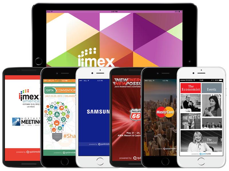 Event-Apps Smartphone und Tablet