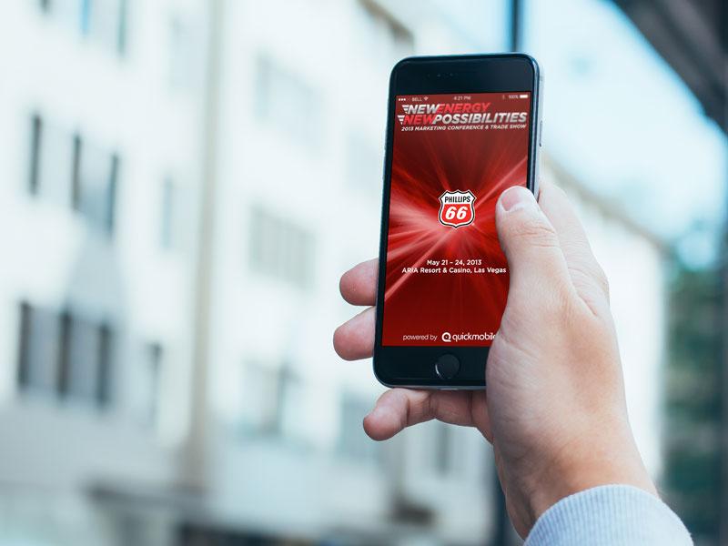 Event-App Smartphone